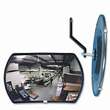 See All Industries 160 Degree Convex Security Mirror, 18 W X 12 H