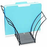 Eldon Rolodex Butterfly File Sorter, 5 Sections, Mesh