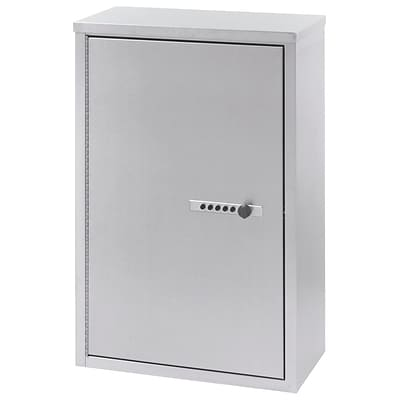 Omnimed Large Double Door Narcotic Cabinet with Combo Lock - 4 Shelves - 8 D (181680)