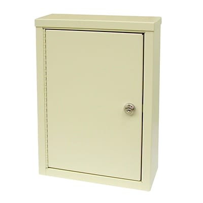 Omnimed Economy Double Door Narcotic Cabinet - 2 Shelves - 4 D (182125)
