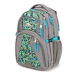 High Sierra Swerve Charcoal/Electric Geo/Tropic Teal Backpack (53665-4940)