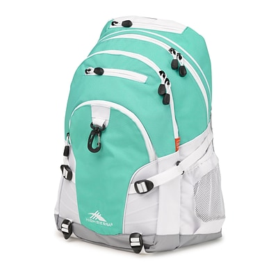 High Sierra Loop Aquamarine/White/Ash Backpack (53646-0783)