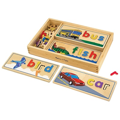 Melissa & Doug® See & Spell Learning Toy (2940)