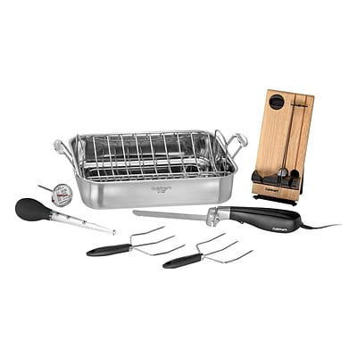 Cuisinart® 16 Roasting Pan with Electric Knife (7117-16EPS)
