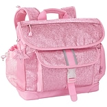 Bixbee® Sparkalicious Pink Polyester/Rubber Kids Glitter Backpack (303002)