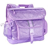 Bixbee® Sparkalicious Purple Polyester/Rubber Kids Glitter Backpack (303014)