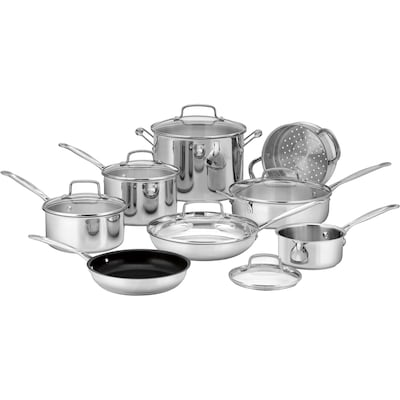 Cuisinart(r) Chef's Classic(tm) 14 Piece Cookware Set (77 14n)