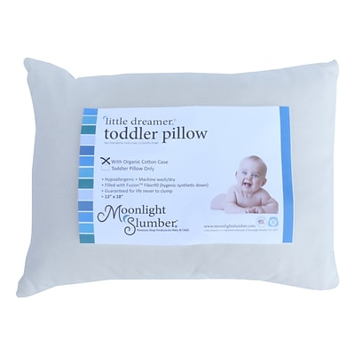 Moonlight Slumber® Little Dreamer™ Fusion Fiberfill Toddler Pillow (PRETOD-O)