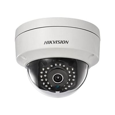 Hikvision® Value DS-2CD2122FWD-IS 2MP Wired Dome Network Camera with 2.8 mm Fixed Lens, Vandal-Resistant