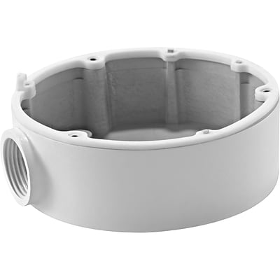 Hikvision® CB110 White Wire Intake Box for Dome Camera