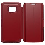 OtterBox® Strada Series Case for Galaxy S7 Edge, Ruby Romance Red (77-53190)