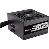 Corsair® CX Series™ Semi-Modular ATX Power Supply, 450 W (CX450M)