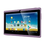 Worryfree Gadgets® 7DRK-Q 7 Tablet, 4GB, Android 4.4 KitKat, Purple