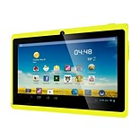 Worryfree Gadgets® 7DRK-Q 7 Tablet, 4GB, Android 4.4 KitKat, Yellow