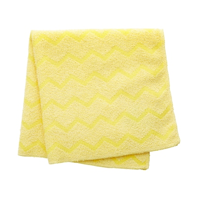 "Rubbermaid(r) Hygen(tm) Microfiber All Purpose Cleaning Wiping Cloths, Yellow, 16"", 12/ct"