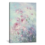 iCanvas Dancing Petals by Debi Coules Painting Print on Wrapped Canvas; 18 H x 12 W x 0.75 D