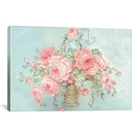 iCanvas Mothers Roses by Debi Coules Painting Print on Wrapped Canvas; 18 H x 26 H x 0.75 D