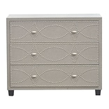 Three Hands Studded 3 Drawer Cabinet