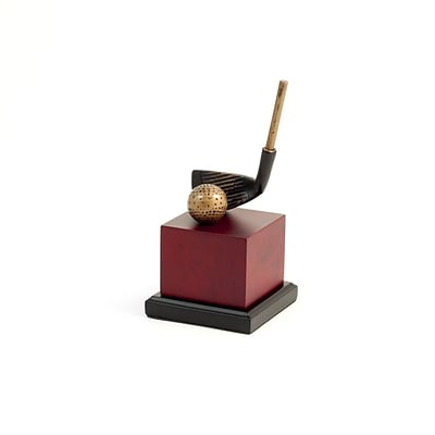 Bey-Berk 9 Golf Club Head Sculpture (B169L)