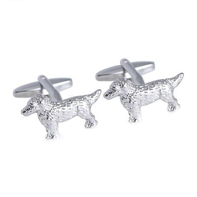 Bey-Berk Dog Cufflinks (J245)