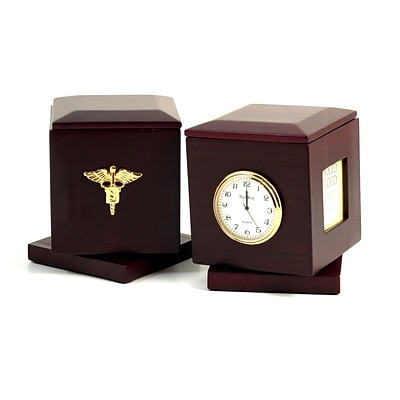 Bey-Berk Dental Pen Box with Frames & Clock (R49D)