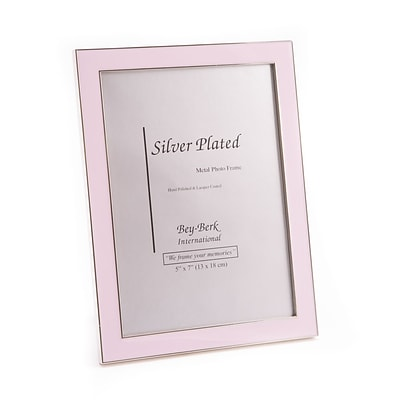 Bey-Berk 5 x 7 Metal Picture Frame (SF118-11)