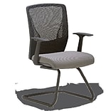 OCISitwell Score Mesh Guest Chair; Grey