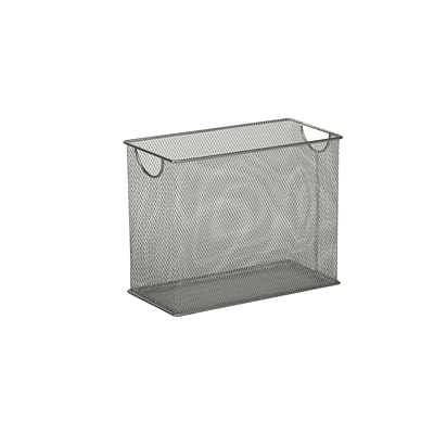 Honey Can Do Mesh Tabletop File, Silver (OFC-03303)