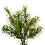 Vickerman Cashmere 5.5 White Pine Artificial Christmas Tree w/ 350 Dura-Lit Clear Lights w/ Stand