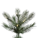 Vickerman Cashmere 4.5 White Pine Artificial Christmas Tree w/ 250 LED White Lights w/ Stand