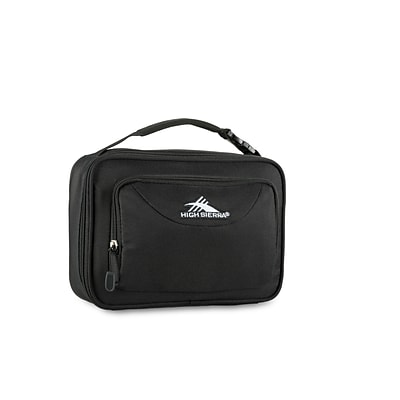 High Sierra Single Compartment Lunch Bag, Black (74715-1041)