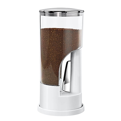Honey Can Do KCH-06076 Indispensable® Coffee Dispenser- Wht/Ch