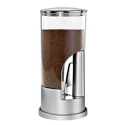 Honey Can Do KCH-06077 Indispensable® Coffee Dispenser-Slv/Ch