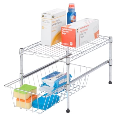 Honey Can Do Shf 03525 Urban Style Shelving With Removable Basket