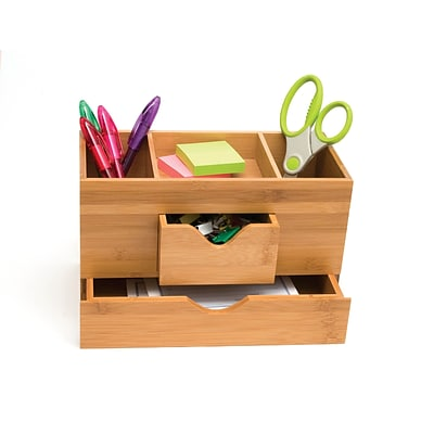 Lipper International Bamboo Desk Organizer 3 Tier 1803