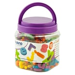 Miniland Educational Magnetic Lowercase Letters (155 Pieces) / Jar, Multicolor (97913)