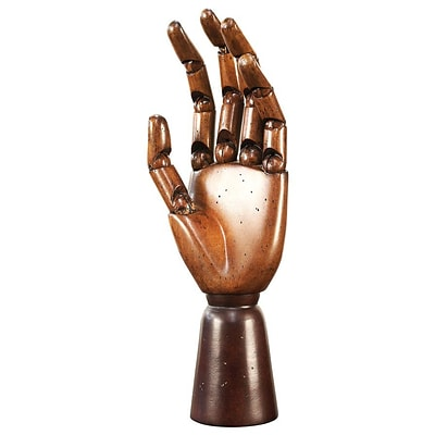 Authentic Models MG001F 9.75H Artist Hand Statue (AUTHMD261)
