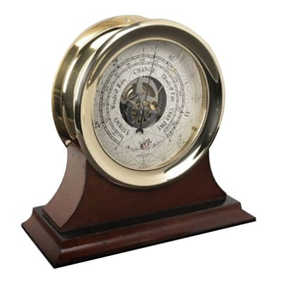 Authentic Models  Captains Barometer  Large (AUTHMD397)