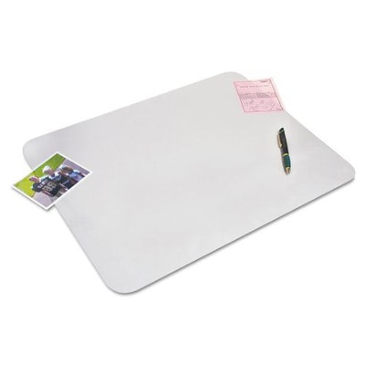Artistic  KrystalView Desk Pad with Anti Bacteria, 24 x 19 Clear (AZERTY16470)
