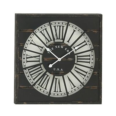 Benzara  Stunning Wood Wall Clock (BNZ10079)