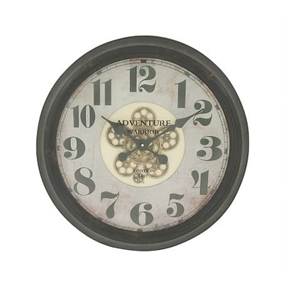 Benzara  Superbly Styled Metal Wall Clock (BNZ10856)