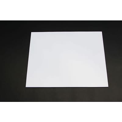 Dacasso Limited  Dacasso Colors Faux Leather 17 X 14 Table Mat, Daisy White (DCSS586)