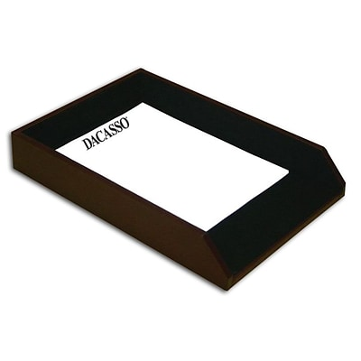 Dacasso  Leather Front-Load Legal-Size Tray (DCSS137)