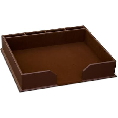 Dacasso Limited  Chocolate Brown Leather Conference Pad Holder (DCSS903)