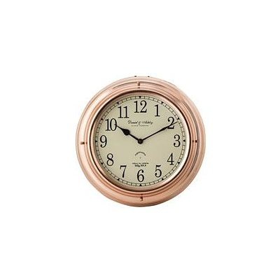 Elk Group International  5 in. Polished Copper Nautical Wall Clock (ELKLIGHT9615)