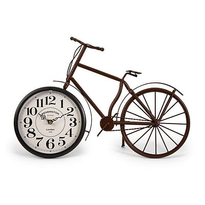 Home Decor Improvements  Higdon Bicycle Clock (IMAX1746)