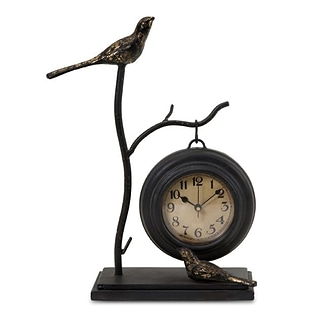 IMAX Corporation  Bird and Branch with Hanging Clock (IMAX4886)
