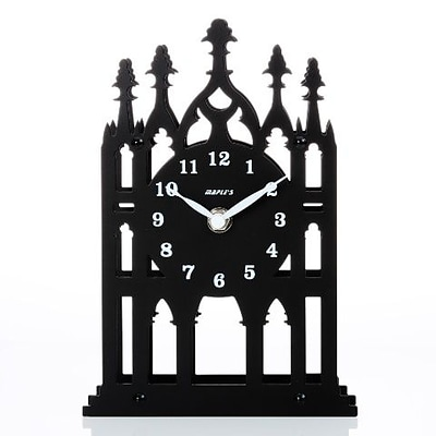 Maples Clock  Silhouette Metal Table Clock (MPLS174)