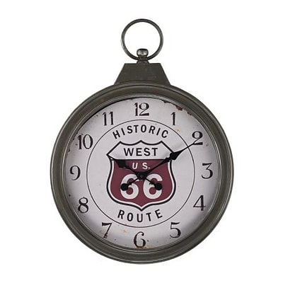 Elk Lighting  Fob Style Route 66 Clock (RTL175356)