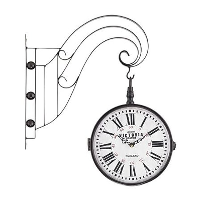 Elk Lighting  Double Sided Iron Scroll Wall Clock (RTL175563)